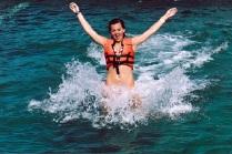 nado con delfin pedrito