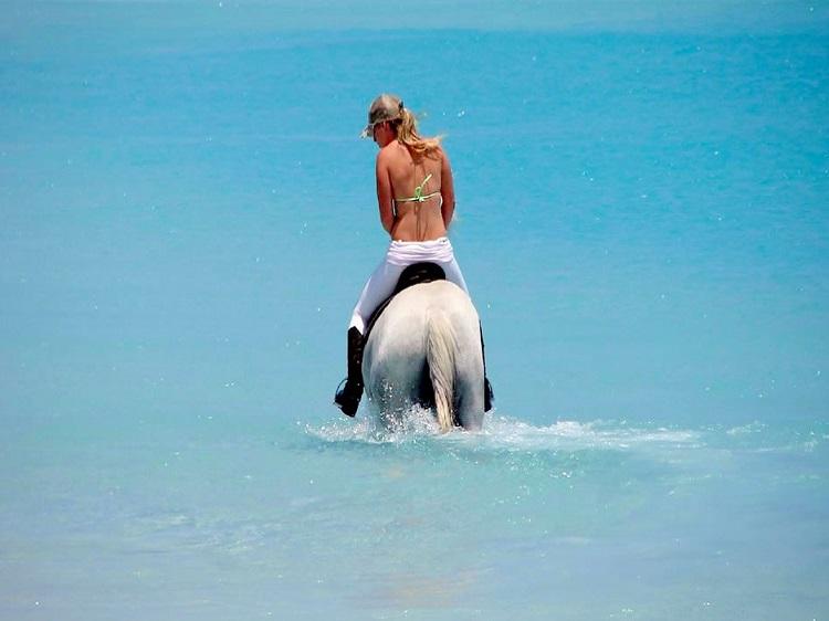 paseo en caballo punta cana