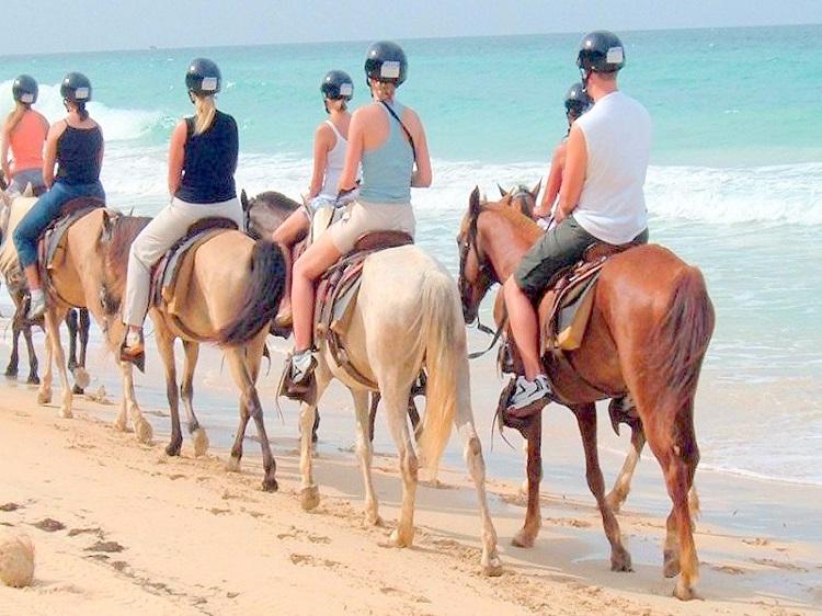 paseo punta cana a caballo